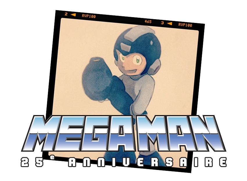 Mega Man, 25e anniversaire !