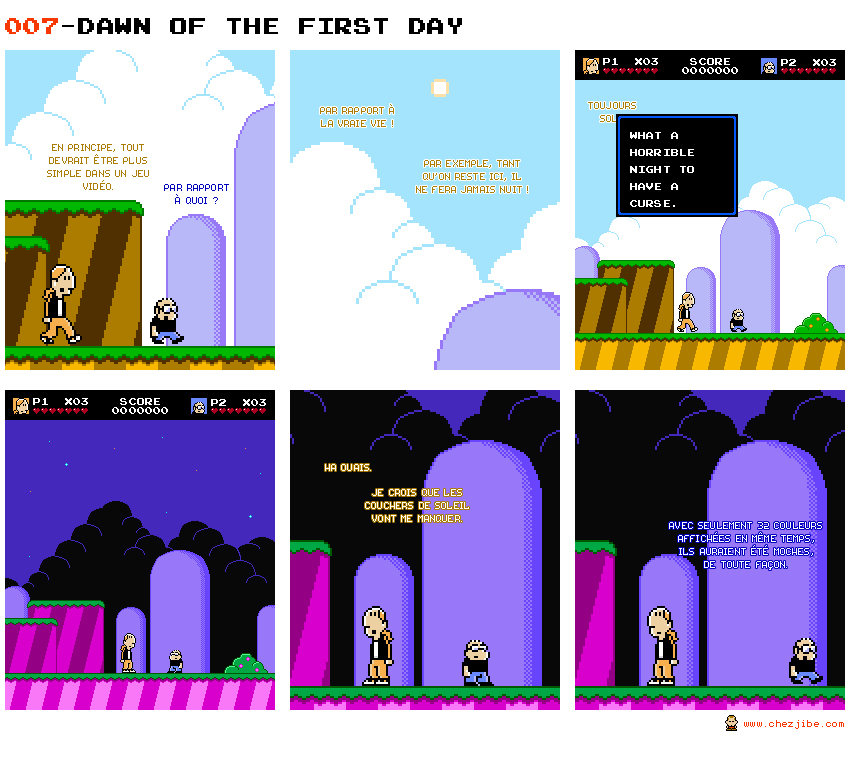 007- Dawn of the first day