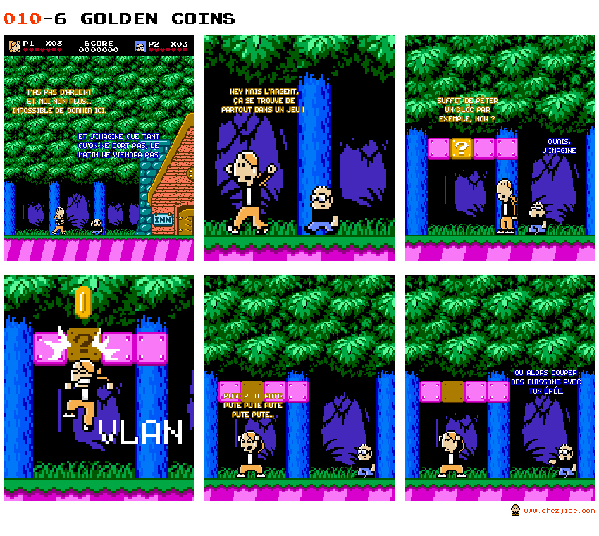 010- 6 Golden Coins