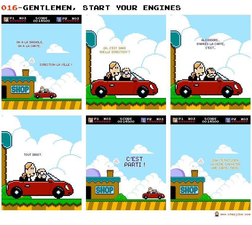 016- Gentlemen, start your engines