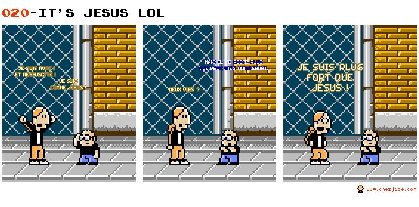 020- It's Jesus lol