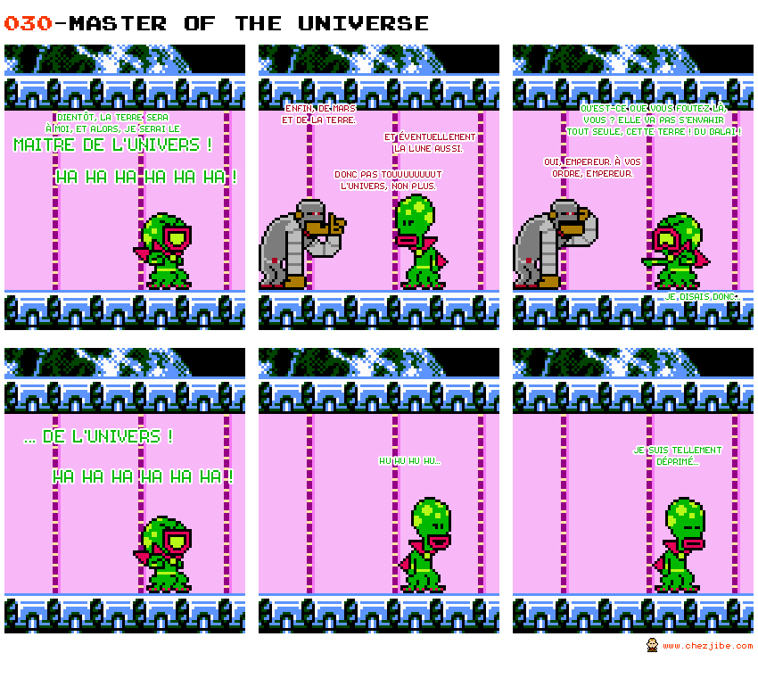 030- Master of the Universe