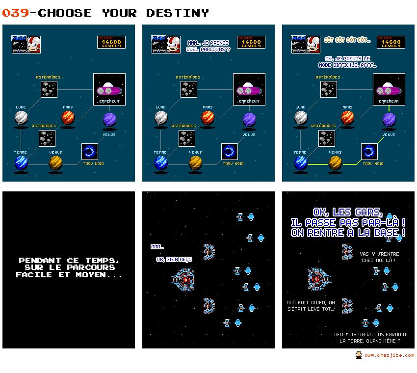 039- Choose your destiny