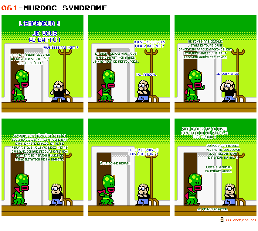 061- Murdoc syndrome