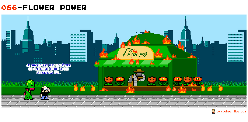 066- Flower power
