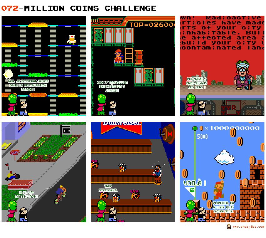 072- Million coins challenge