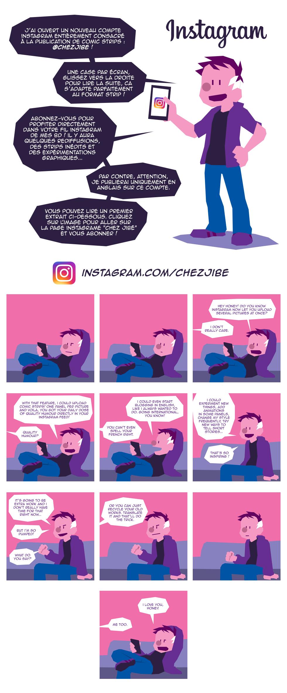 Chez Jibé sur Instagram !