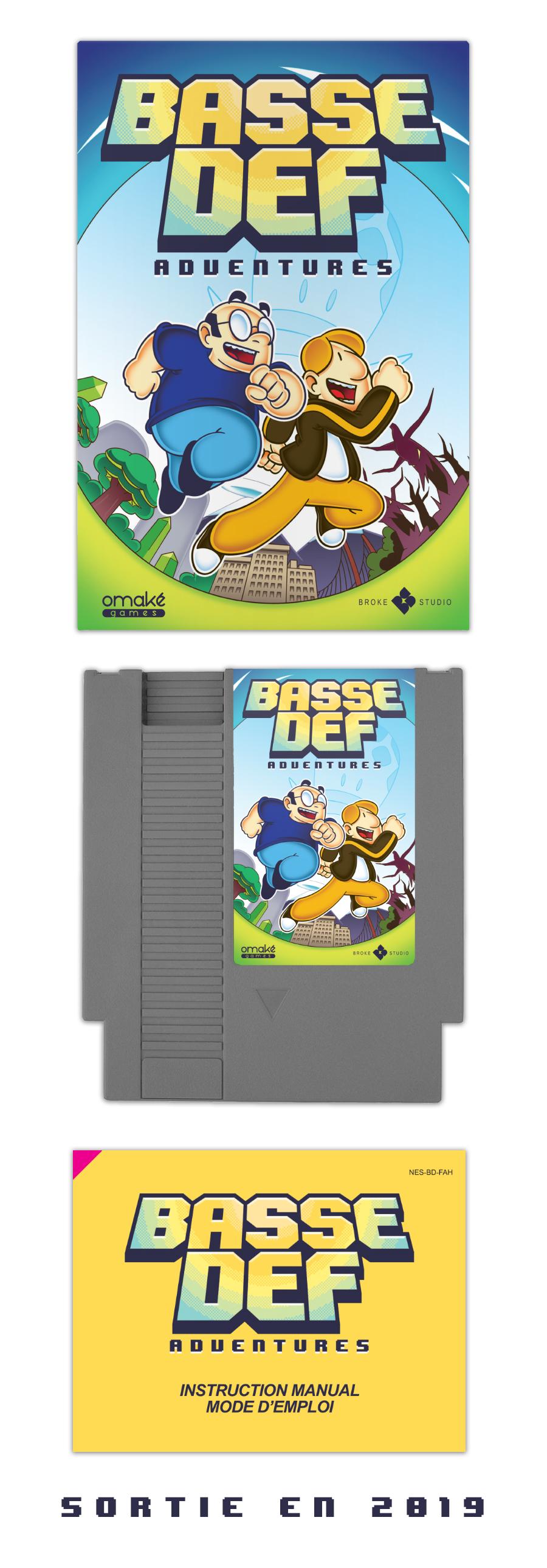 Basse Def Adventures, le jeu vidéo sur NES