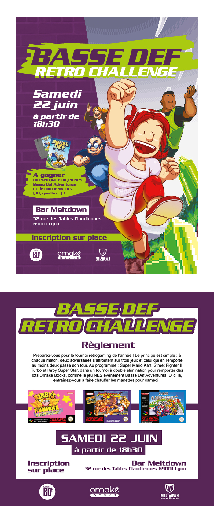 Basse Def Retro Challenge