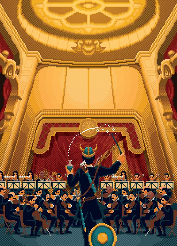 Symphonie pour Pixels