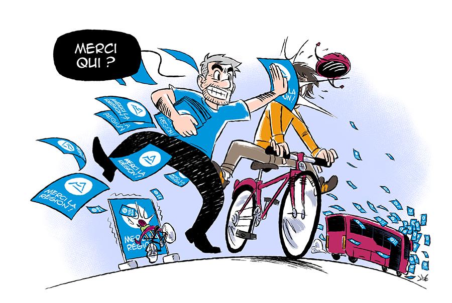«Laurent Wauquiez abuse-t-il de la loi LOM ?»